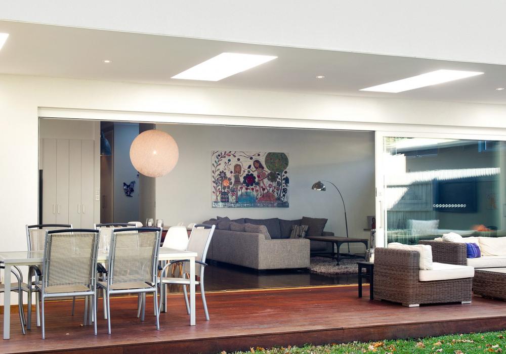 Edwardian Cottage Outdoor Living Area Renovation