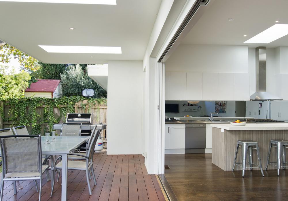 Edwardian Cottage Outdoor Decking Restoration