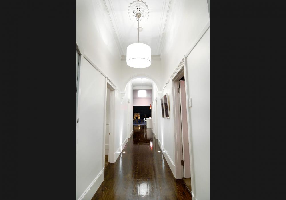 Victorian Home Hallway Renovation