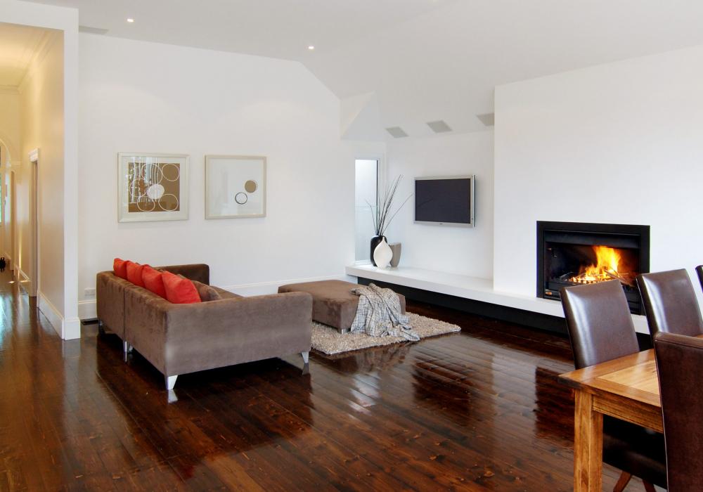Custom Rebuild of Living Room in Armadale Period Home