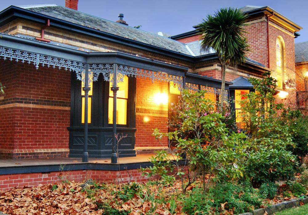 Front garden of Canterbury home
